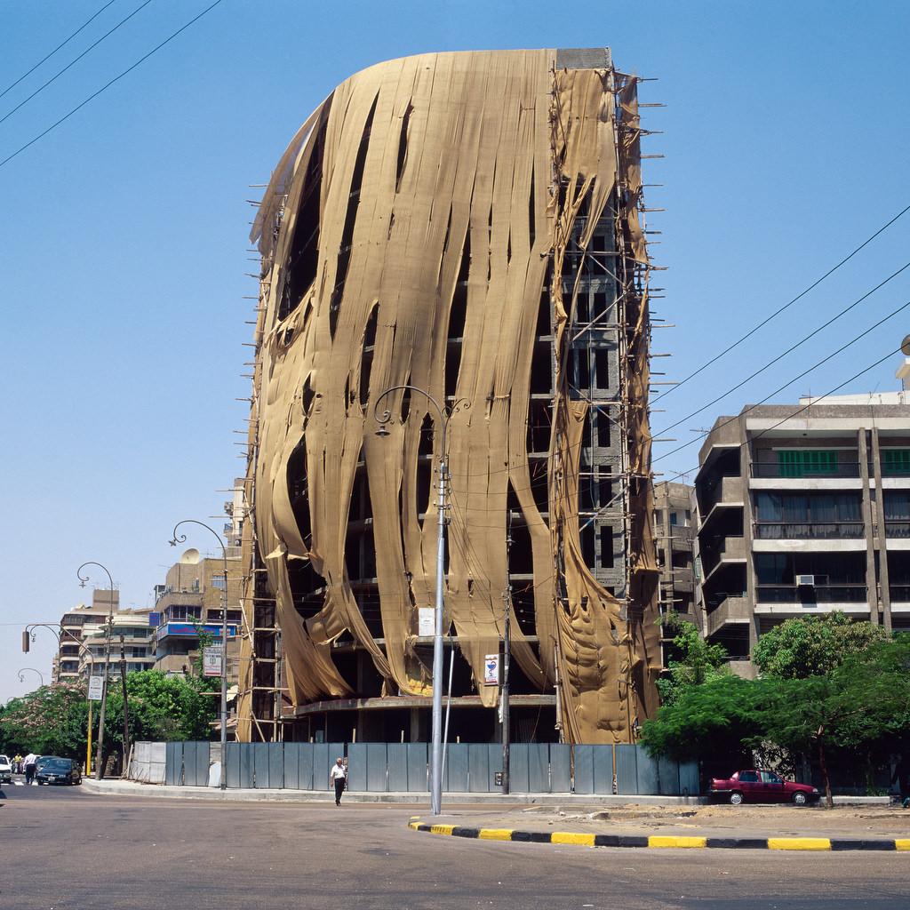 Paysages urbains, Le Caire, Egypte 2000.