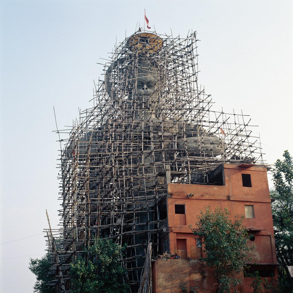 Paysages urbains, Delhi, Inde 2000.
