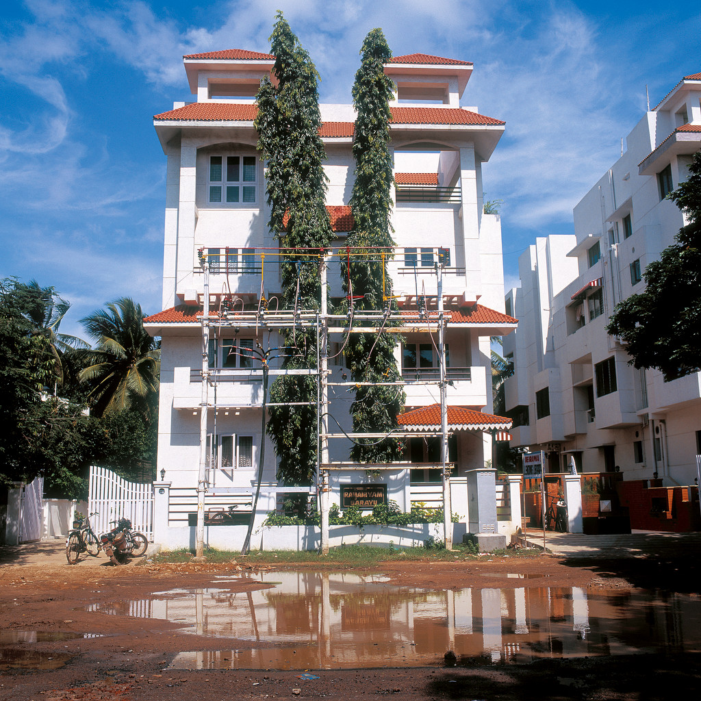 Paysages urbains, Chennai, Inde 2002.