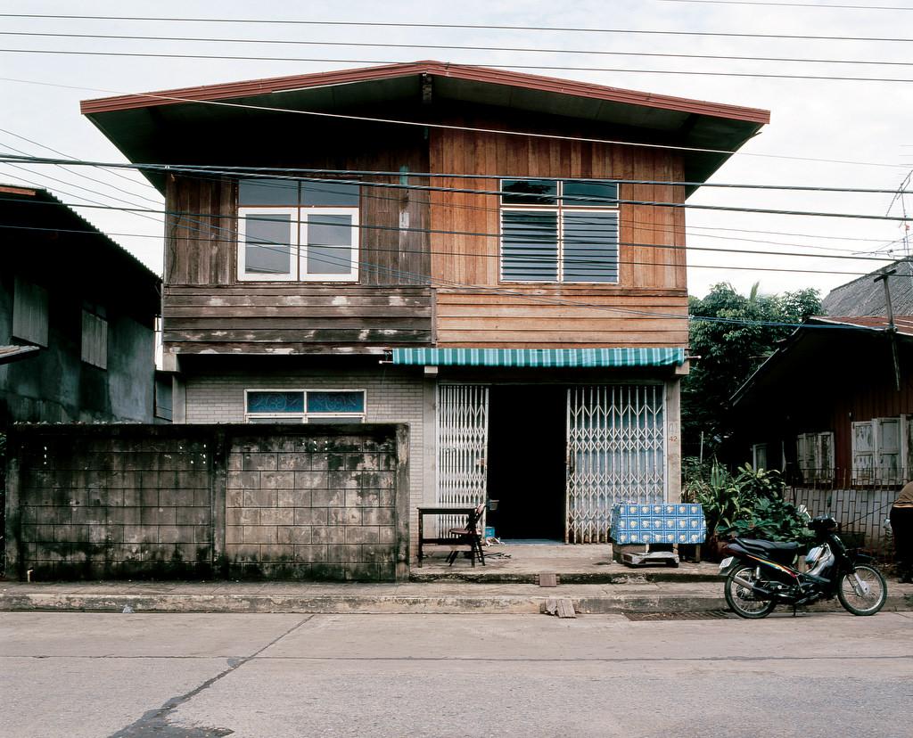 Paysages urbains, Tha•lande 2001.