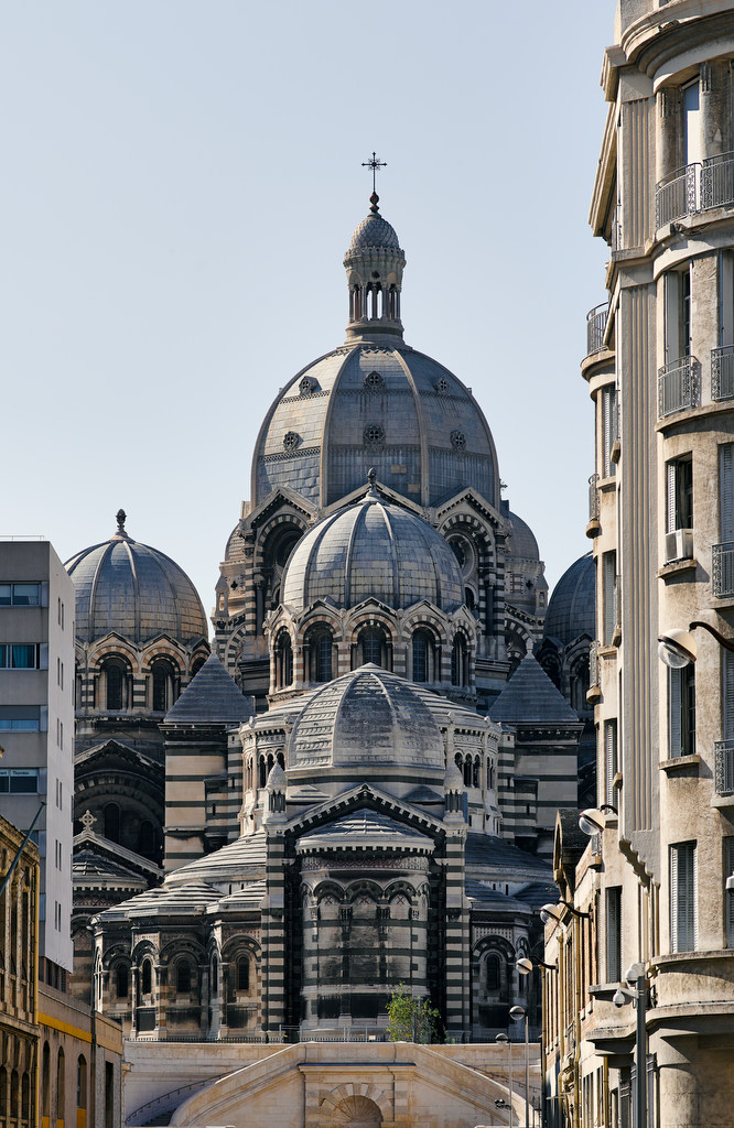 photo d'architecture : marseille vertical